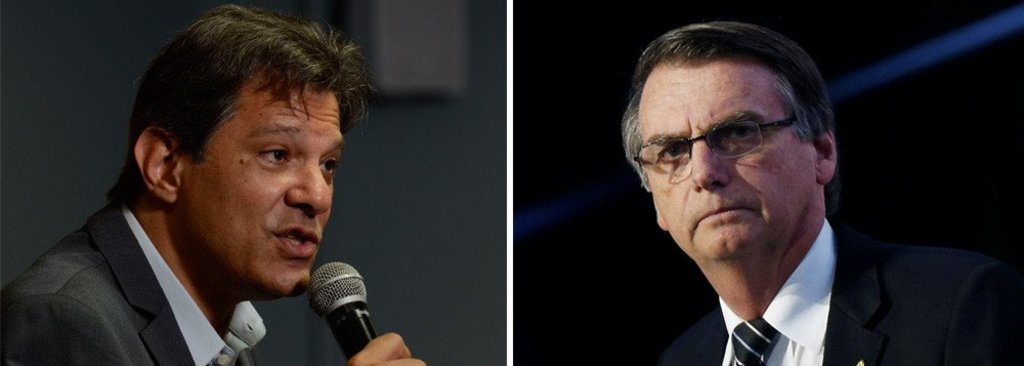 Ibope: Bolsonaro tem 57% e Haddad, 43% - Gente de Opinião