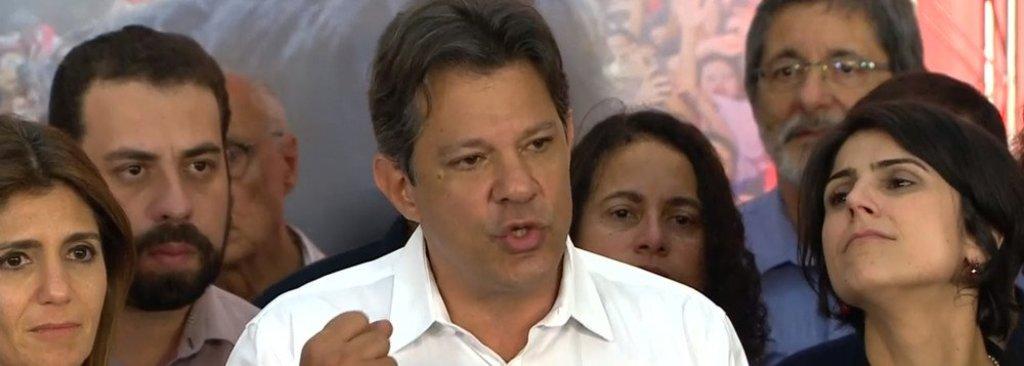 Haddad agradece os 45 milhões de votos em defesa da democracia  - Gente de Opinião