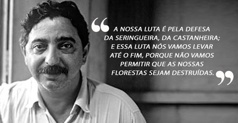 Chico Mendes: 30 anos do assassinato do líder seringueiro