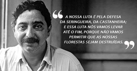Chico Mendes: 30 anos do assassinato do líder seringueiro