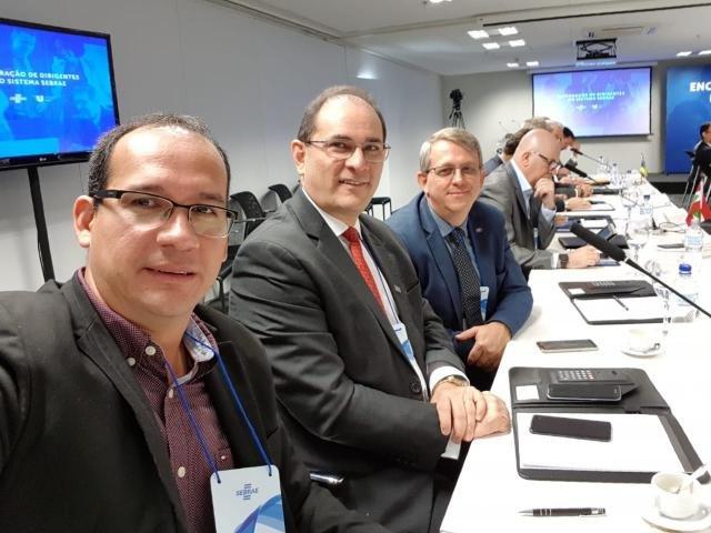 Rondônia presente em reunião de dirigentes do Sebrae em Brasília - Gente de Opinião