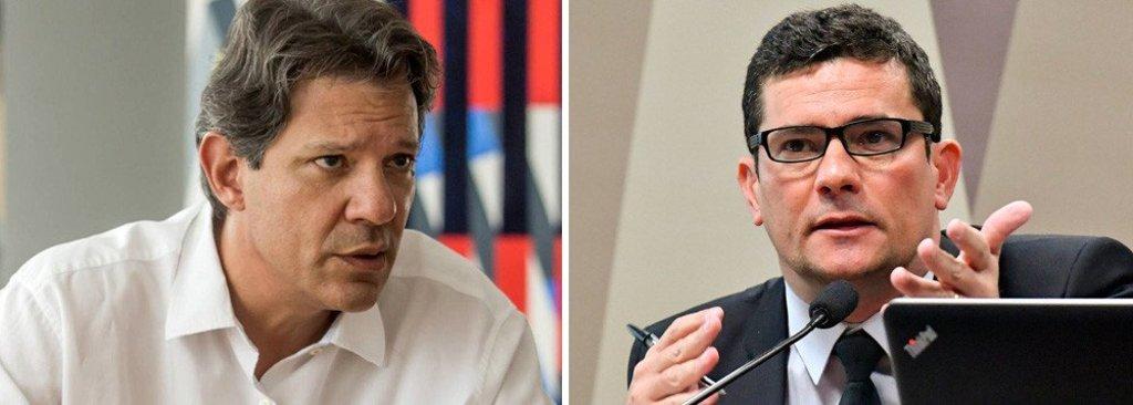 Projeto do ministro Moro é um 'recorta e cola' vergonhoso, diz Haddad - Gente de Opinião
