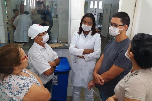 Anderson Pereira fiscaliza e ouve demandas de servidores no maior hospital infantil de Rondônia - Gente de Opinião