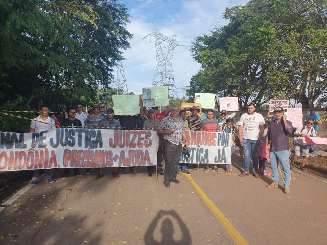 Santo Antônio Energia: Atingidos por barragens bloqueiam estradas de acesso a usina - Gente de Opinião
