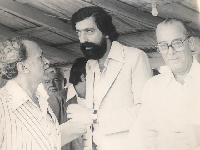 William Cury, de barba, um dos construtores da estrutura do Estado de Rondônia - Gente de Opinião
