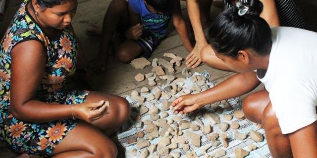 Vestígios arqueológicos são comumente encontrados em comunidades ribeirinhas (Foto: Maurício Silva) - Gente de Opinião