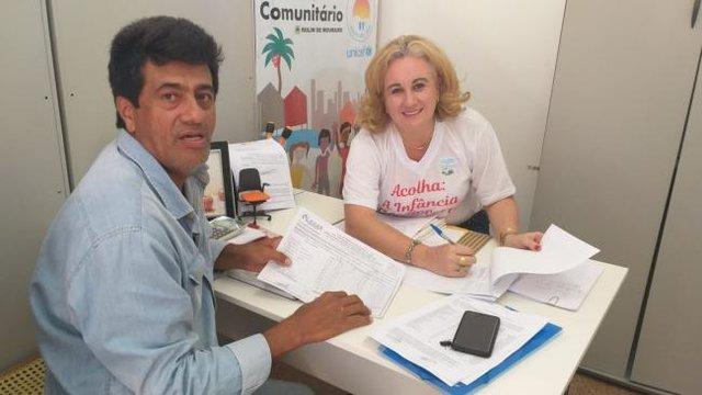 PAA - Secretária de Assistência Social recebe presidente da Adagrim - Gente de Opinião