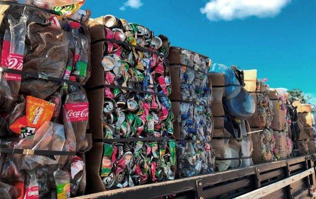 Hidrelétrica Santo Antônio doa resíduos recicláveis para cooperativas - Gente de Opinião