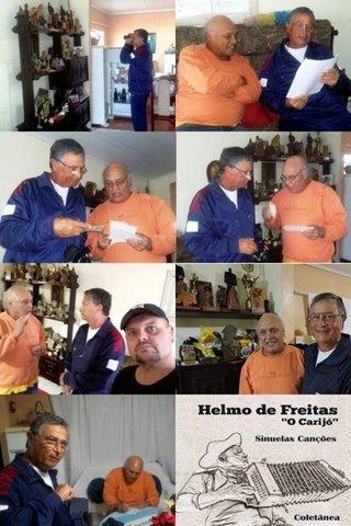 Imagem 01 – Helmo de Freitas e Leandro, Camaquã, RS - Gente de Opinião