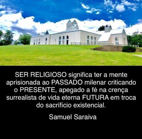 Religiões se aglomeram distantes da razão - Gente de Opinião