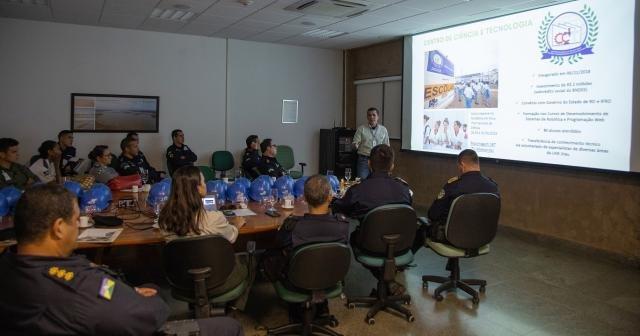 UHE Jirau Recebe Comando Geral da Polícia Militar de Rondônia - Gente de Opinião