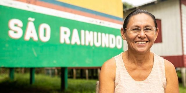 Dona Loza' é uma das comunitárias retratadas na série (Foto: Everson Tavares) - Gente de Opinião