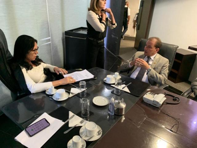 Prefeito de Porto Velho consolida termo de cooperação técnica com o TCDF - Gente de Opinião