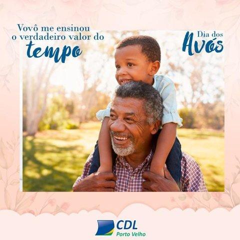CDL incentiva celebração do Dia dos Avós  - Gente de Opinião