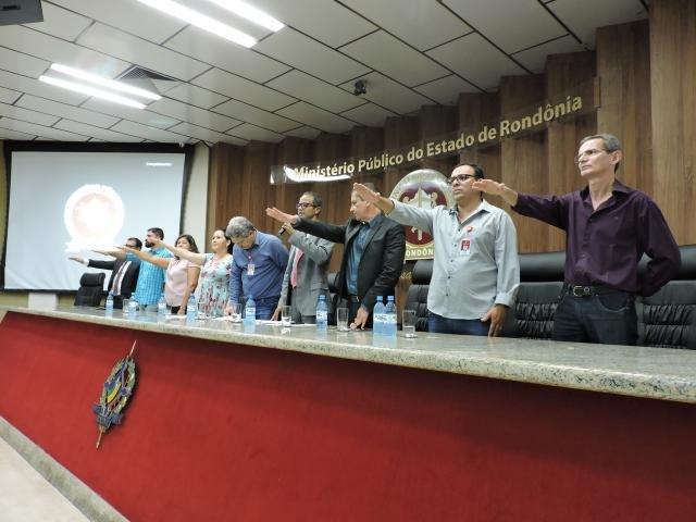 Toma posse Diretoria do Sindicato dos Servidores do Ministério Público para o triênio 2019/2022 - Gente de Opinião
