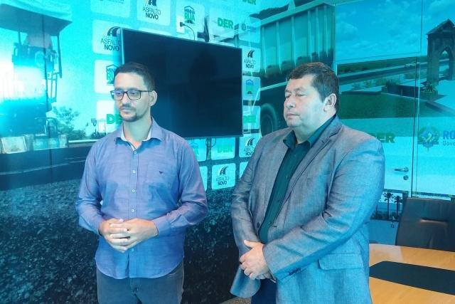 Deputado Anderson Pereira se reúne com diretor do DER para retomada de melhorias na Estrada da Penal - Gente de Opinião