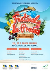 Festival de Praia de Jaci-Paraná contará com atrações variadas - Gente de Opinião