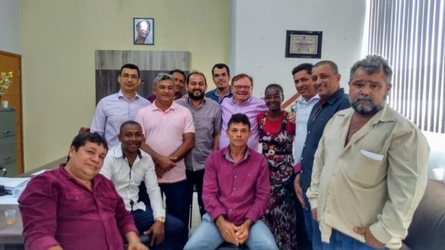 Deputado Laerte Gomes inicia semana visitando Presidente Médici - Gente de Opinião