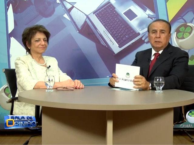 Programa Sala de Opinião entrevista Drª Carmita Abdo ( Psiquiatra e Coordenadora do Programa de Estudos  em Sexualidade).  - Gente de Opinião