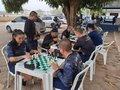 Professor Gualter Amélio incentiva a prática do xadrez entre os soldados em formação no CE da Polícia Militar