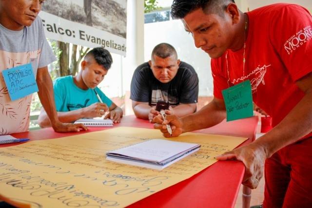Ribeirinhos realizam projetos para melhorias em comunidades da região do Médio Solimões, no estado do Amazonas (Foto: Bernardo Oliveira) - Gente de Opinião