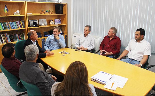 Deputado Federal Chrisóstomo de Moura visita as instalações do Sesc e Senac em Porto Velho - Gente de Opinião