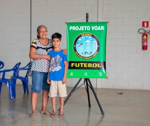 O Projeto Voar incentiva a prática esportiva na capital e beneficia tanto as crianças quanto os familiares - Gente de Opinião