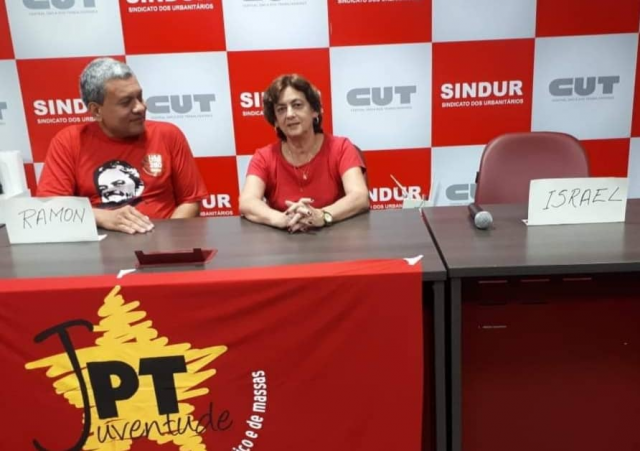 Atual presidente do PT não comparece ao debate e Ramon Cujui apresenta propostas aos militantes - Gente de Opinião