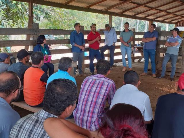 Semagric viabiliza implantação de laticínio em Jaci Paraná - Gente de Opinião