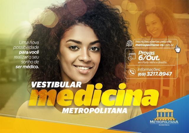 Inscrições para o vestibular de Medicina da Faculdade Metropolitana já estão abertas - Gente de Opinião