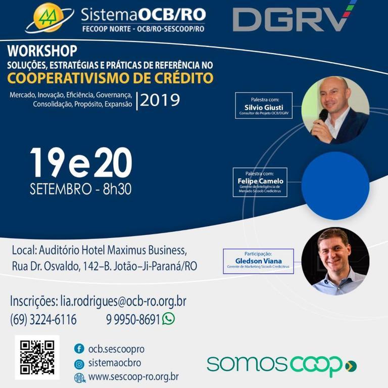OCB/RO reunirá diretores de cooperativas de crédito do Estado para debater e traçar metas para o setor - Gente de Opinião