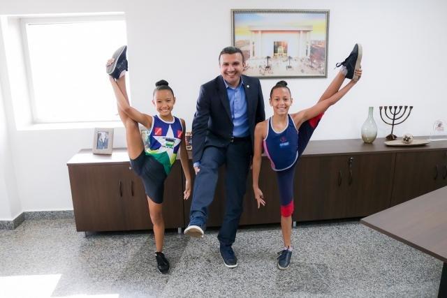 Apoio do deputado Alex Silva garante ginastas mirins no Campeonato Nacional de Ginástica Rítmica - Gente de Opinião