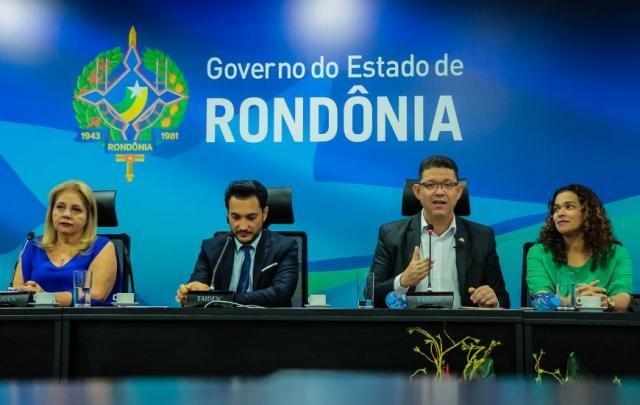 Governador Marcos Rocha destacou o empenho da equipe da EpR - Gente de Opinião