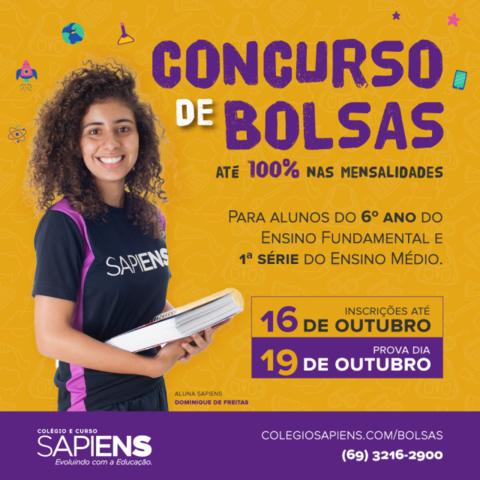 Colégio Sapiens abre inscrições para Concurso de Bolsas com vagas para 2020 - Gente de Opinião