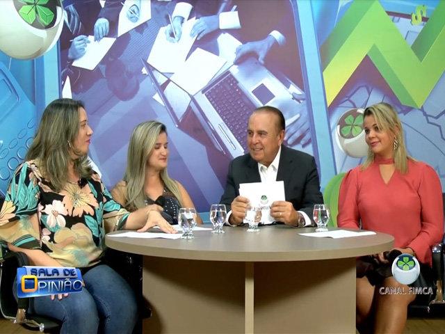 Dr. Aparício Carvalho, entrevista as professoras do curso de pedagogia da Faculdade Metropolitana: Jane Lúcia, Claudia Lobo e a professora de letras Ludmila Navarrete - Gente de Opinião
