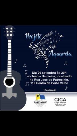 Prefeitura realiza 1º Recital do Projeto Aquarela, no Banzeiros - Gente de Opinião