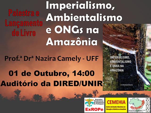 Pesquisadora do Rio de Janeiro faz palestra e Lança livro na UNIR sobre ONGs na Amazônia - Gente de Opinião