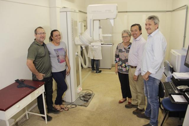 Mamógrafo funcionando: prefeitura lança Outubro Rosa com expectativa de zerar fila de exames de mama - Gente de Opinião