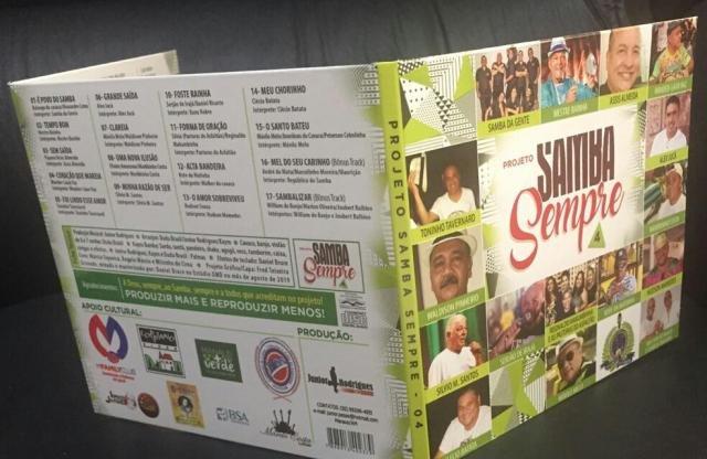 Lenha na Fogueira + Samba Autoral apresenta  4º CD do Samba Sempre - Gente de Opinião