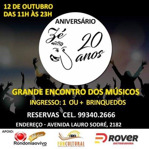 Lenha na Fogueira + Grande encontro de músicos + Rondônia recebe pela 1ª vez  o evento Senac  Fashion Day - Gente de Opinião
