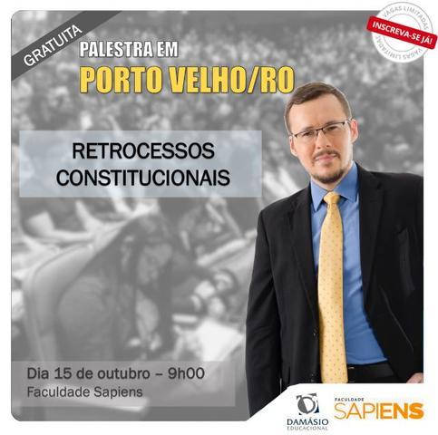 """Faculdade Sapiens sediará palestra gratuita sobre """"Retrocessos Constitucionais"""" com professor Flávio Martins - Gente de Opinião"""