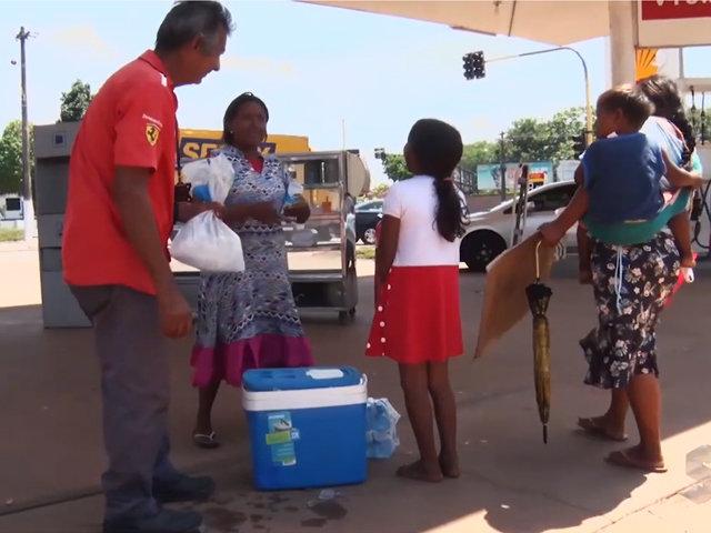 Ponto de apoio para venezuelanos sem ter como viver na terra natal buscam uma vida melhor - Gente de Opinião
