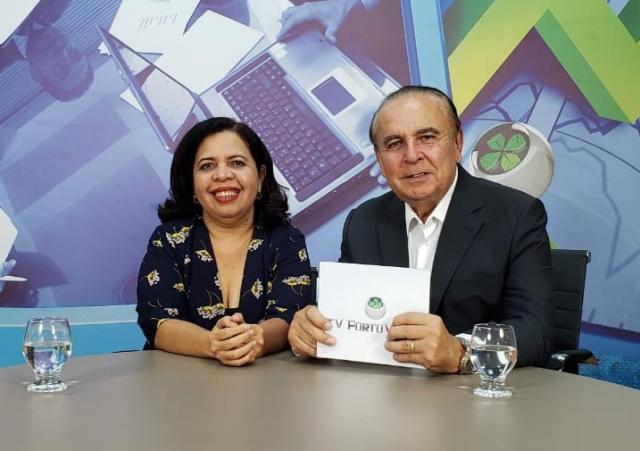 Dr. Aparício Carvalho conversa com a Professora Pedagoga Marxlene Bezerra sobre o desafio do autismo. - Gente de Opinião