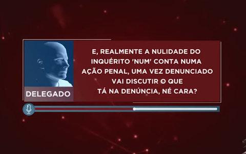 Vazamento de áudio de um delegado aponta falhas nas investigações da operação PAU OCO