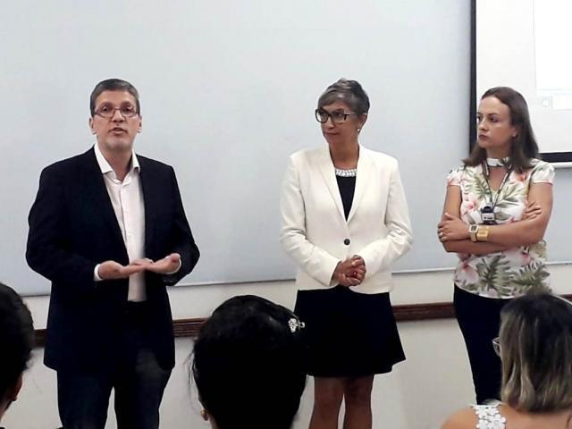 Diretor científico da Fapero, Andreimar Soares e a coordenadora nacional do PPSUS, Marge Tenório. - Gente de Opinião