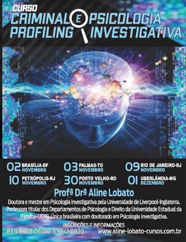 """Faculdade Sapiens sediará o curso """"Criminal Profiling & Psicologia Investigativa"""" com Aline Lobato - Gente de Opinião"""