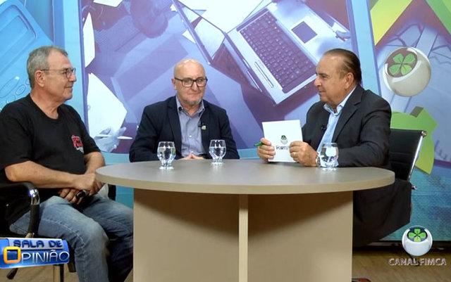 Dr. Aparício Carvalho conversa com Rui Mineiro, Arquiteto e Urbanista, e com Antônio Balau, Professor e Arquiteto - Gente de Opinião