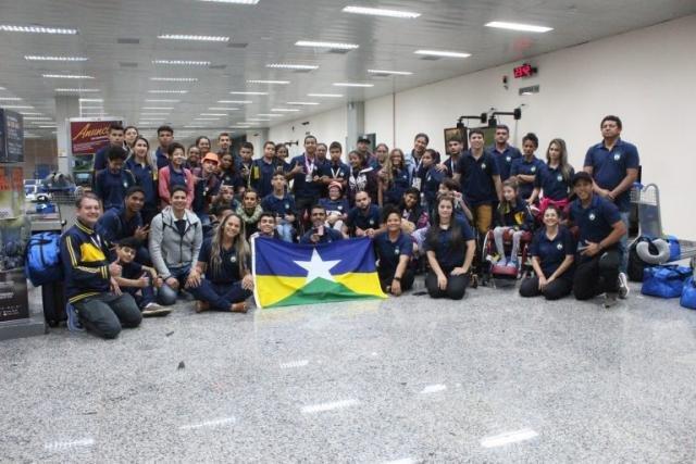 A delegação de Rondônia retornou na última sexta-feira, 22, com 38 medalhas conquistadas - Gente de Opinião