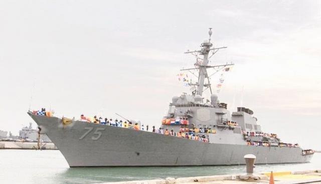 Uma marinheira americana de origem brasileira no destroyer USS Donald Cook - Gente de Opinião