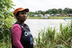 Ribeirinhos percebem mudanças em ciclos na região do Médio Solimões, Amazônia Central (Foto Bernardo Oliveira) - Gente de Opinião